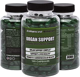 Enhanced Athlete Organ Support - Liver Cycle Support Supplement - Cleanse & Detox Supplement with Milk Thistle, N-Acetyl Cysteine, Saw Palmetto & Vitamin K2-120 Capsules