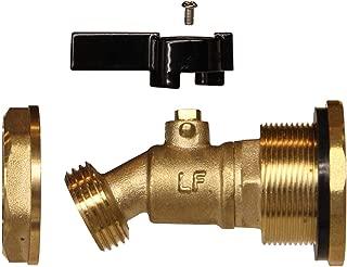 RAINPAL RBS050 Brass Rain Barrel DIY Spigot(Unibody Design)