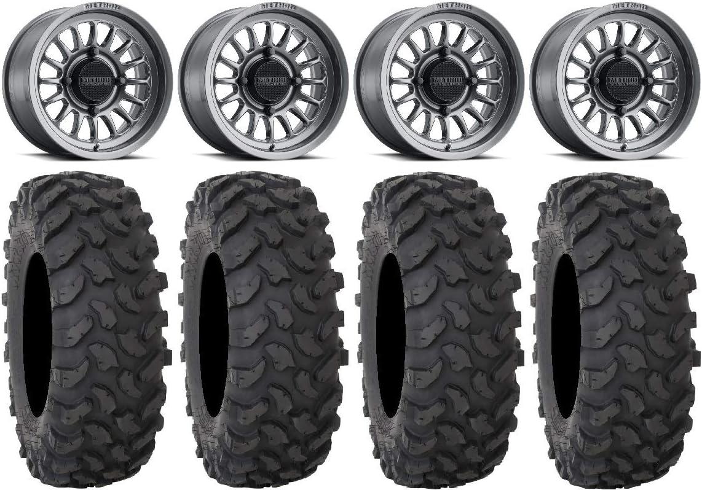 Bundle - Free Max 47% OFF shipping on posting reviews 9 Items: Method 411 Wheels XTR370 Titanium 14