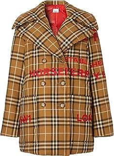 BURBERRY Luxury Fashion Womens 4560626 Beige Coat | Fall Winter 19