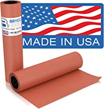 Pink Kraft Butcher Paper Roll - 18 Inch x 175 Feet (2100 Inch) - Food Grade Peach Wrapping Paper for Smoking Meat of all V...