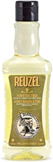 Reuzel - 3-In-1 Tea Tree Shampoo, Conditioner & Body Wash For Men - For Scalp, Skin & Hair - Cleanse, Condition, Sooth - W...