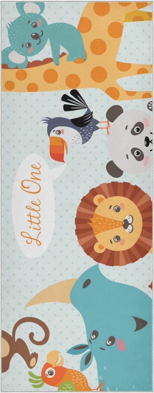 List price Yoga Towel for Mat Baby Japan Maker New Shower Cute Jungle Animals Design Washab