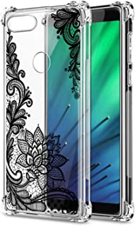 Oihxse Cristal Compatible con Huawei Mate 30 Lite/NOVA5I Pro Funda Transparente TPU Silicona Estuche Airbag Esquinas Anti-Choque Anti Rasguños Diseño Rosa Flower Caso (Flores B4)