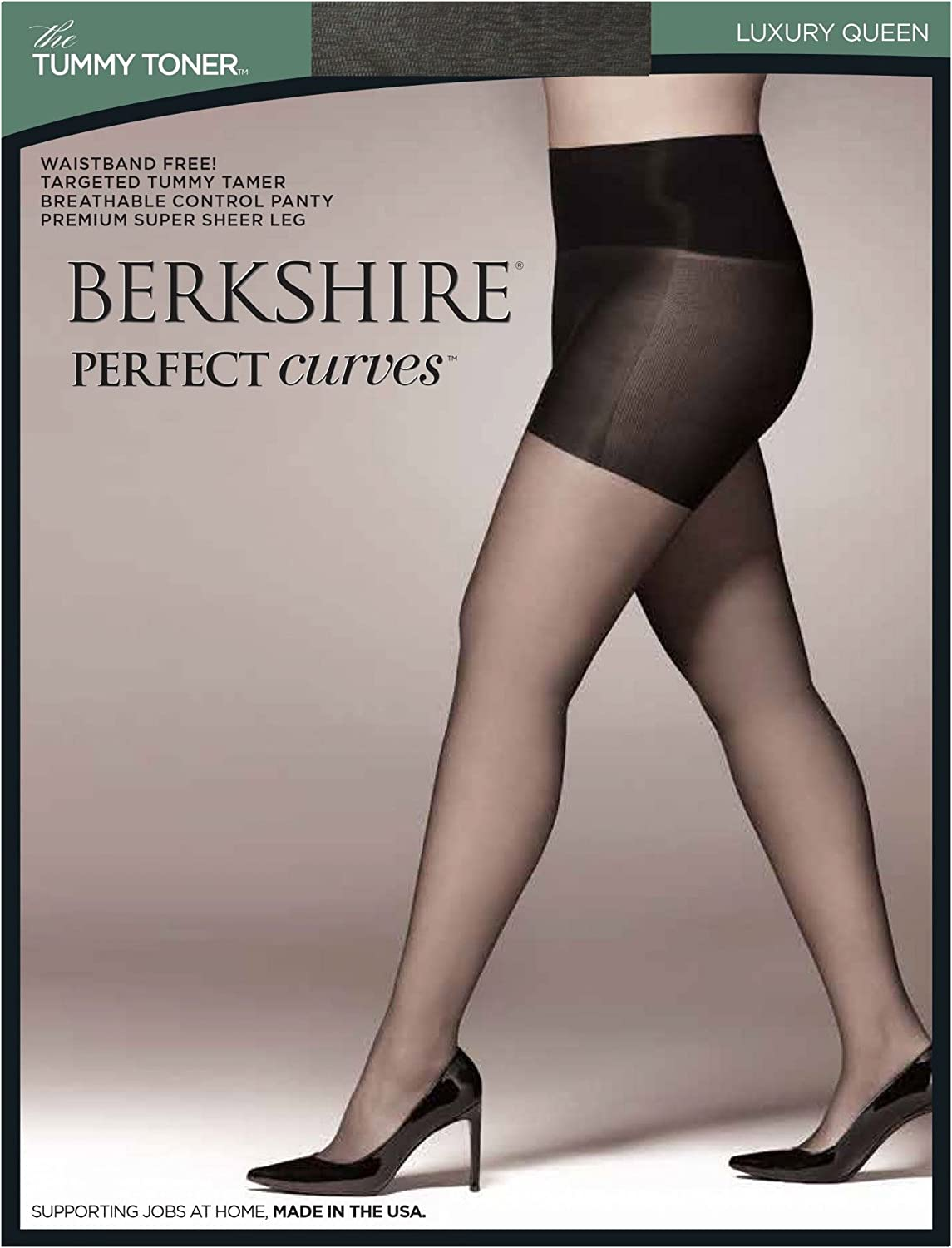 Berkshire Queen Perfect Curves Tummy Toner Pantyhose