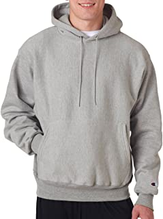 Adult Reverse Weave Hooded Pullover Fleece