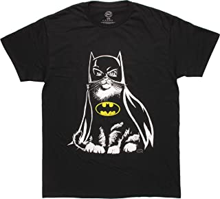 DC Comics Batman Cat in Costume T-Shirt