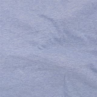 Telio 0590104 Organic Melange Cotton Jersey Knit Lt Blue Fabric by the Yard