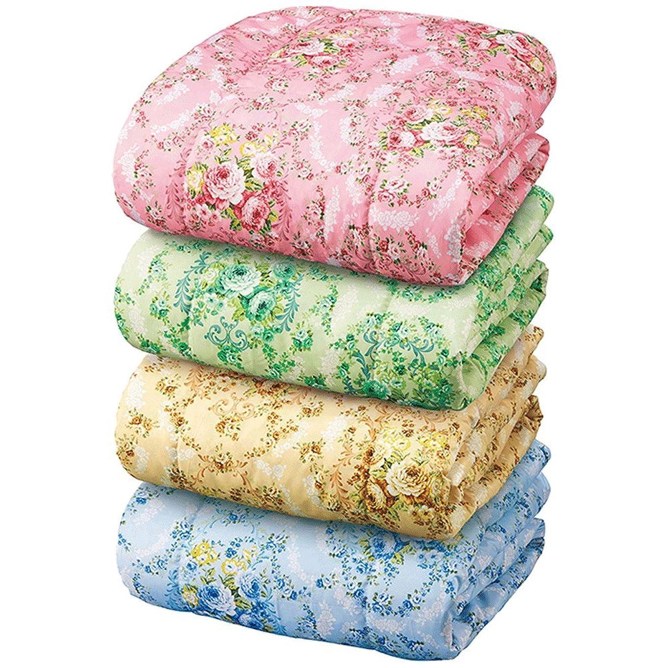 ピクニックをする学生まろやかな(ベルーナ)BELLUNA お買得! 洗える防ダニダウンケット シングル4色組