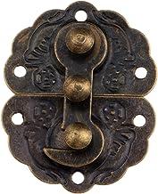 Nologo SSB-DAKOU, 1 stuk 44x34mm wijnoogst houten doos haspe sieraden geschenkdoos decoratieve haspe latch meubels sluiten...
