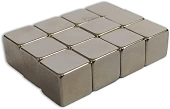Master of Boards Neodymium Strong Cube Magnets, 12 Pieces, (10 x 10 x 10 mm) | For Glass and Magnet Boards