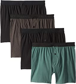 Knit Boxers 4-Pack