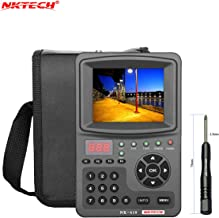 NKTECH HD Digital Satellite TV Signal Finder Meter NK-610 CCTV Camera Monitor Tester Analog Cameras Video Audio Test 1080P 3.5