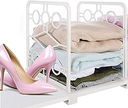 Heimand Plastic Shelf Dividers, Organizer for Closet, Wood Closets Shelves Organizer and Separator for Kitchen Cabinet, Bo...