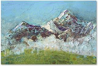 Wilson Fog Green by Kellie Day, 30x47-Inch Canvas Wall Art