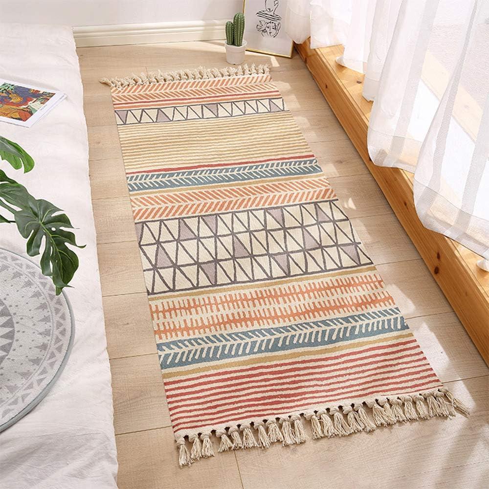 Buy Boho Bathroom Rug with Tassel, 20'x20' Area Rug Carpet Door Mat ...