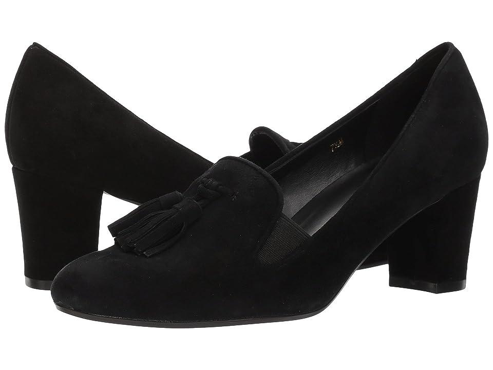 Vaneli Dedalo (Black Suede) High Heels