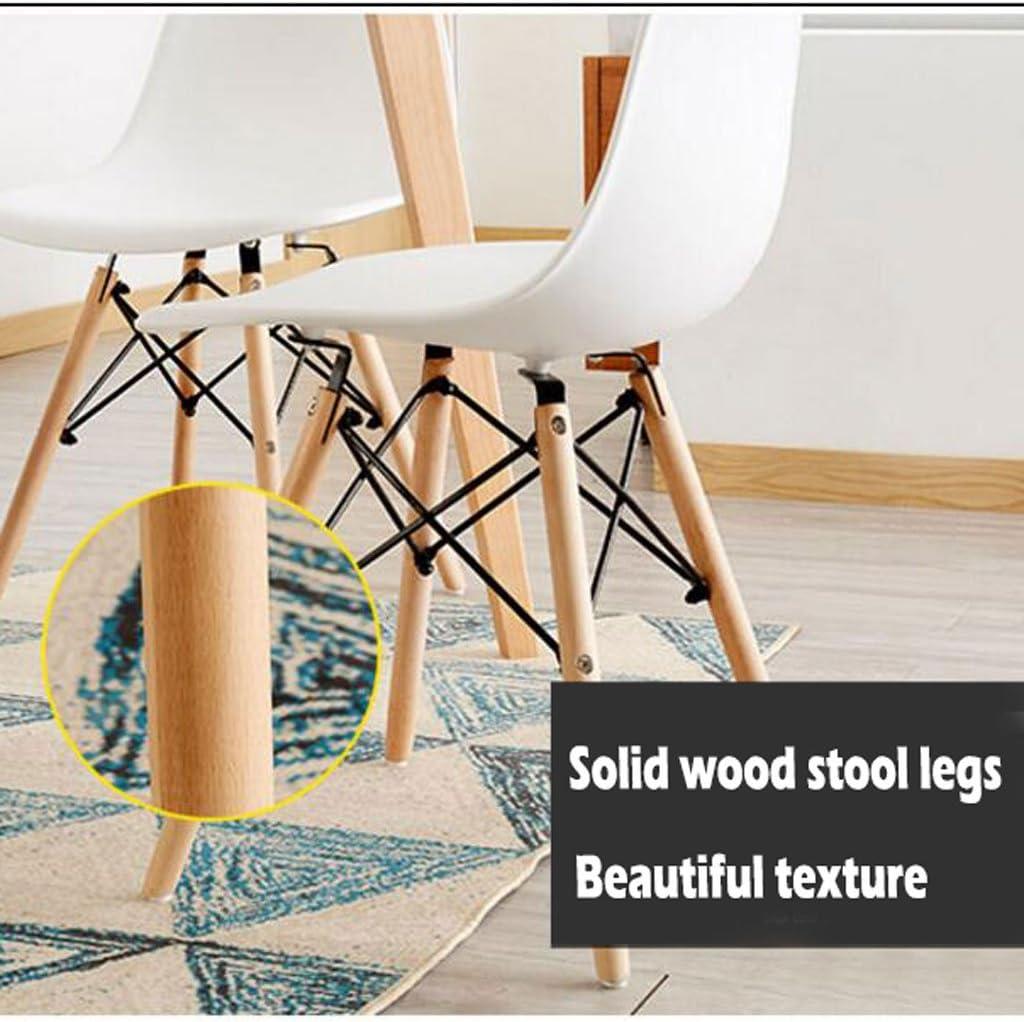 Président WGZ- Chaise Créativité Moderne Simple Étude Chaise de Bureau Bureau Tabouret Dossier Adulte Chaise À Manger Simple (Color : C) A