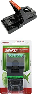 SaverPak Single - Includes 1 JT Eaton Jawz Rat and Chipmunk Trap for use with Solid or Liquid Baits