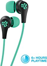 JLab Audio JBuds Pro Bluetooth Wireless Signature Earbuds | Titanium 10mm Drivers | 6-Hour Battery Life | Music Controls | Noise Isolation | Bluetooth 4.1 Extra Gel Tips and Cush Fins | Graphite/Teal