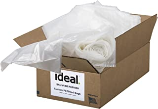 """ideal Shredder Bags Heavy Duty 40 Gallon, 33.5"""" x 47.5"""", 80 Count, Fits ideal Models 2503, 2604 & 3104"""