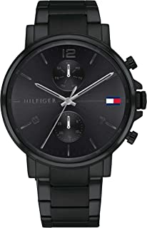 Tommy Hilfiger Men's Multi Dial Quartz Watch with Stainless Steel Strap 1710414
