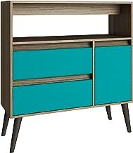 BRV Moveis TV Table, Brown - 135 x 69.5 x 35 cm