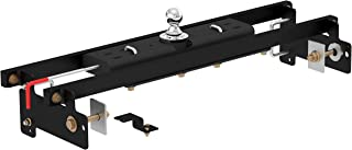 CURT 60711 Double Lock Gooseneck Hitch with Flip-and-Store Ball, 30,000 lbs., 2-5/16-Inch Ball, Fits Select Chevrolet Silverado, GMC Sierra 1500, 2500 LD