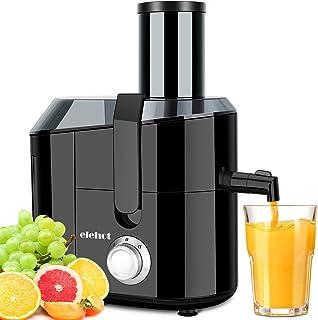 Centrifugeuse Extracteur de Jus 800W Centrifugeuse Fruits et Légumes avec 2 Vitesses sans BPA ELEHOT