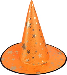 Witch Hat Halloween Costume Cosplay Wicked Witch Accessory Adult One Size