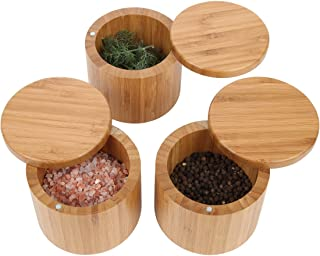 round wood container