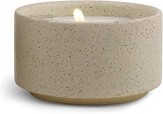 Paddywax Candles Mesa Collection Scented Ceramic Candle, 3.5-Ounce, Tobacco & Sandalwood