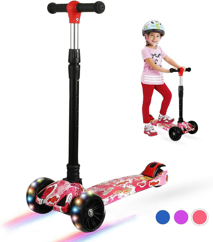 Sales for sale Zicosy Kids Scooter 3 fo Adjustable Weekly update Wheel Height