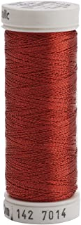 Sulky 142-7014 Metallic Thread for Sewing, Christmas Red