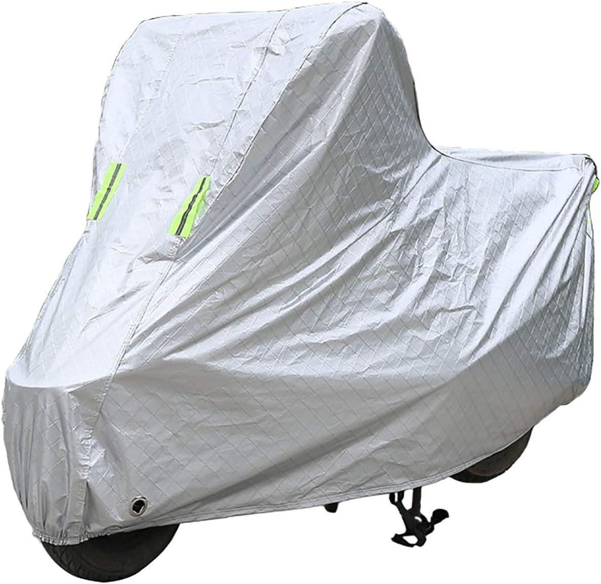 Funda para Moto Compatible con la cubierta de motocicleta SOCO TS 1200R, cubierta de protección para scooter al aire libre para todas las estaciones, materiales compuestos con revestimiento de PE Dura