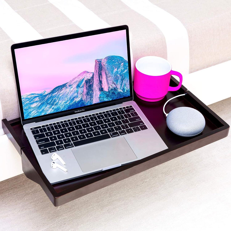 BedShelfie Plus Das Original Nachttisch Regal - 3 Farben   2 Gren - GESEHEN AUF Business-Insider und Kickstarter (Plus Gre, Bambus in Schwarz)