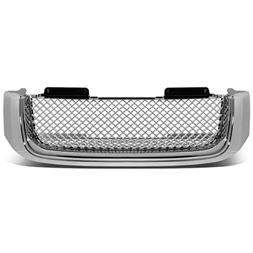For 02-09 GMC Envoy/XL ABS Plastic Bentley Style Mesh Front Bumper Grille
