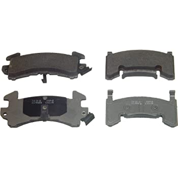 Disc Brake Pad Set-QuickStop Disc Brake Pad Front,Rear Wagner ZD154