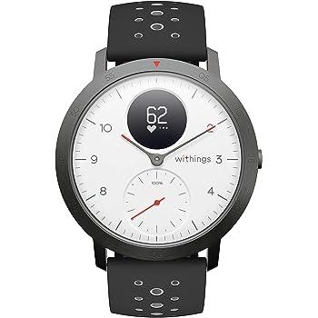 Withings Steel HR Sport Reloj Inteligente Híbrido, Unisex Adulto ...