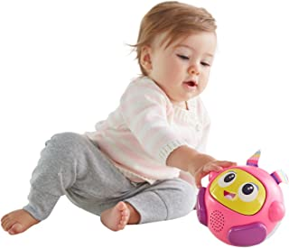 Fisher-Price Bright Beats Spin & Crawl Tumble Beat Belle Ball