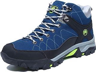 Zapatos de Senderismo a la Moda para Hombre Botas de Invierno Impermeables Zapatillas cálidas Deporte al Aire Libre Trekki...