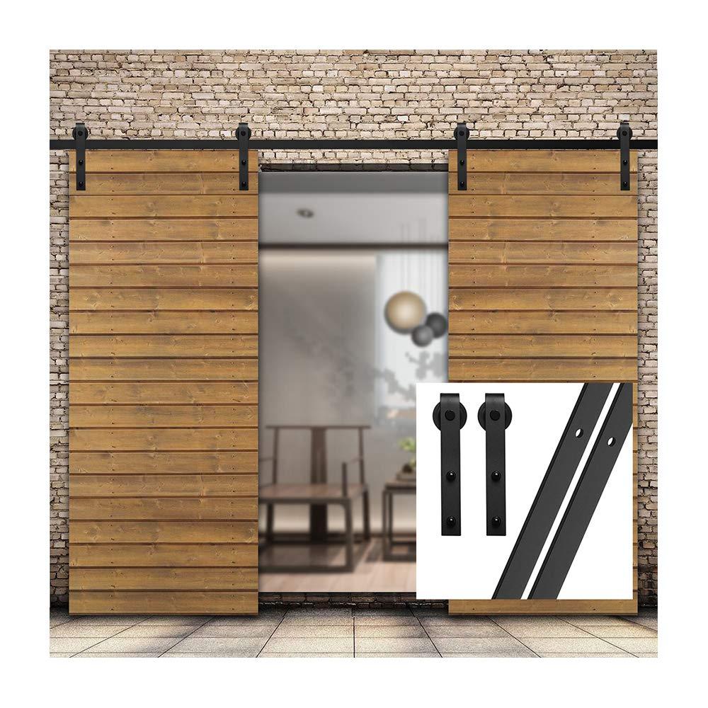 gifsin 18FT/549cm Herraje para Puerta Corredera Kit de Accesorios ...