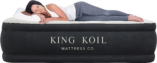 King Koil 123, Queen, Black