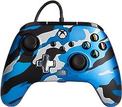 Controller Cablato Avanzato Powera Per Xbox – Blu Metallizzato Camo, Gamepad, Controller Per Videogiochi Cablato, Controll...