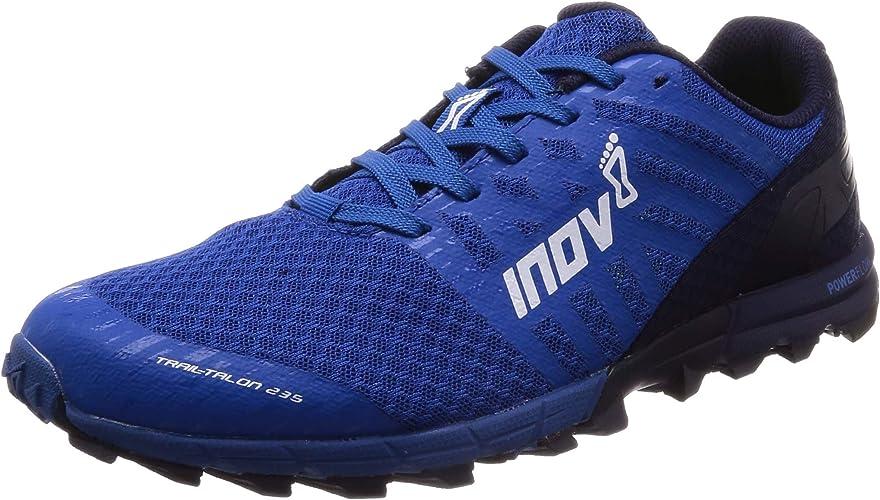 INOV-8 Trailtalon 235 Chaussures de Course à Pied pour Homme, Bleu, 45