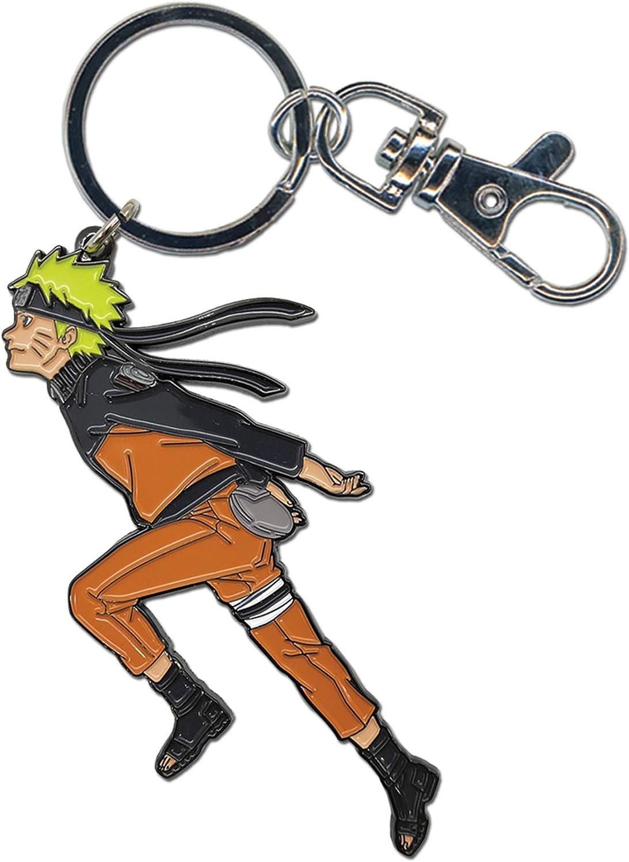 Naruto Shippuden- Running Enamel Keychain