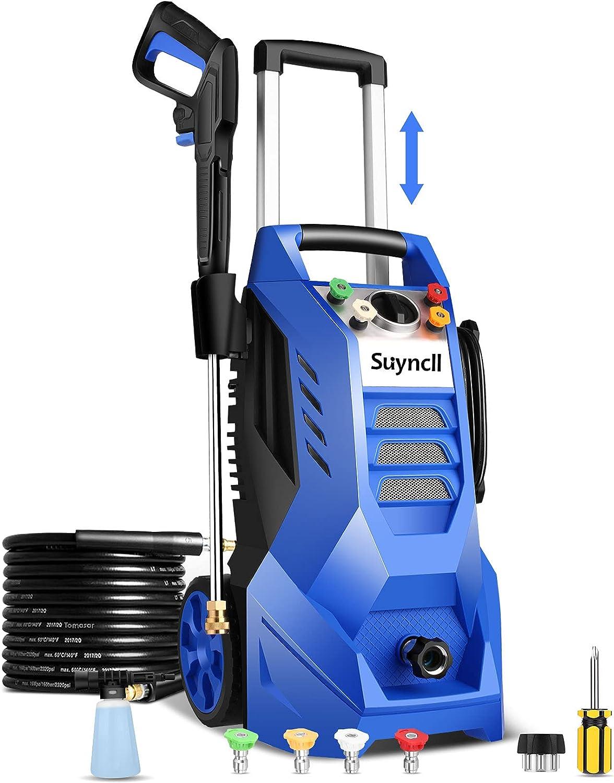 Suyncll Electric Pressure Washer 3800PSI