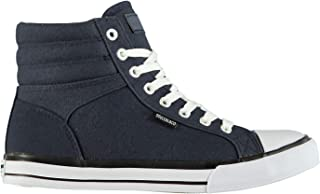 SoulCal Mens Asti Canvas Trainers Sneakers Sports Shoes Plimsolls Plimsoles