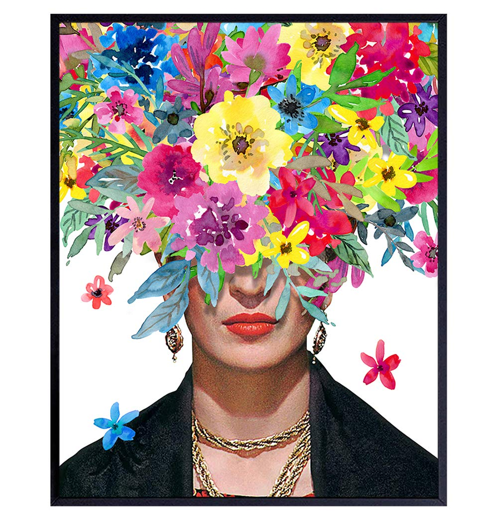 Frida Kahlo Art - Super intense SALE Wall Poster Complete Free Shipping Decor
