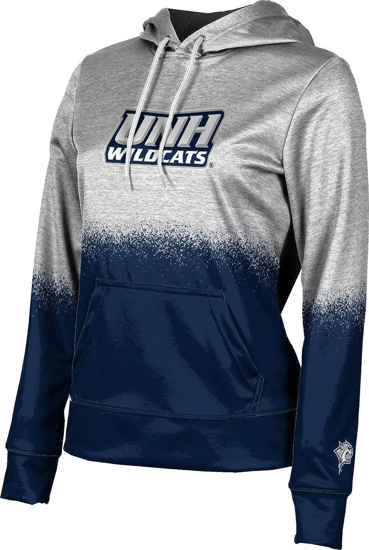 ProSphere University of New Hampshire Girls' Pullover Hoodie, School Spirit Sweatshirt (Spray Over)